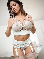 Titty Play & Nipple Pinch: Nice Big Boobs Squeezed Hard free photos and videos on DDFNetwork.com