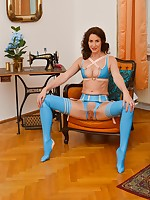 Lara's Playground video: New Blue Latex