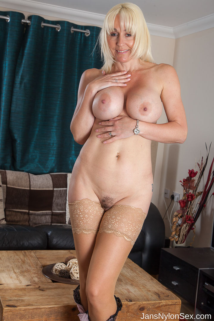Hot milf stocking fuck